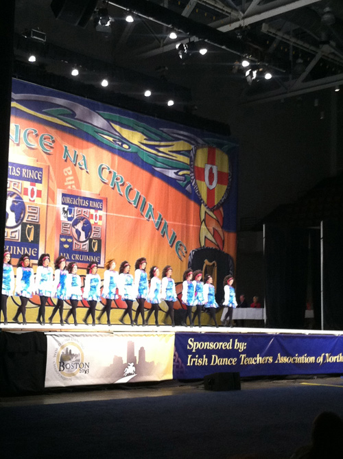 irish dancing lines