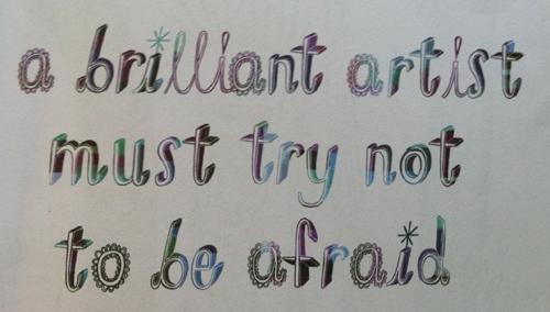 brilliant artist