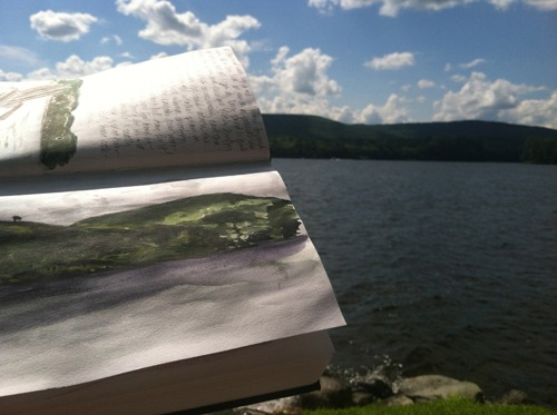 long pond sketch 2
