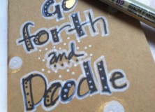 Go Forth and Doodle!  A Give-away