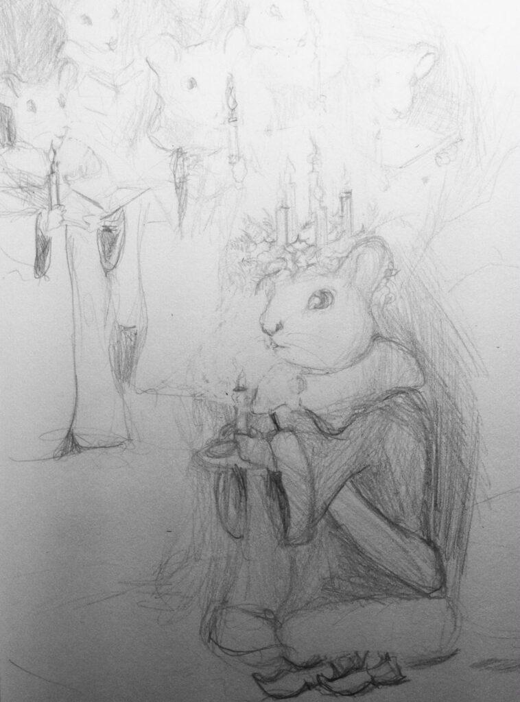 ginger st. lucia sketch