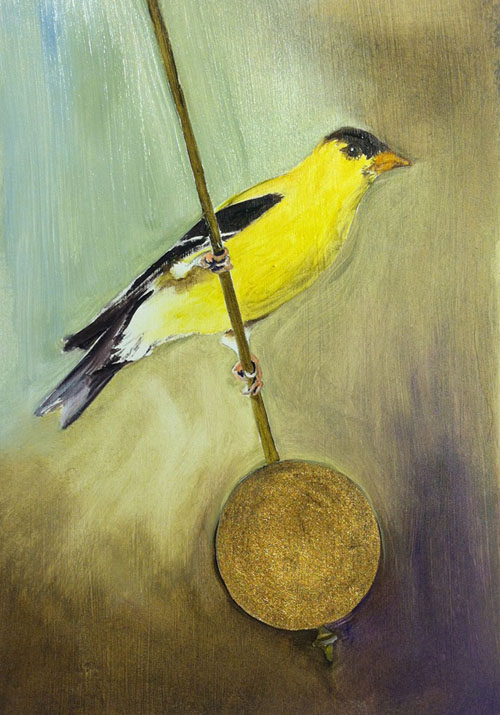 Canary rides the pendulum of time