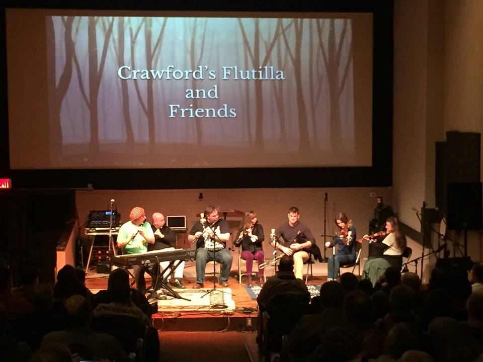 Crawford's Flutilla and friends, photo courtesy of TJW organizer, Chad Beauchaine