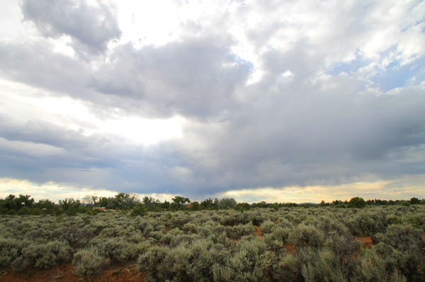 NM skies from the Morada