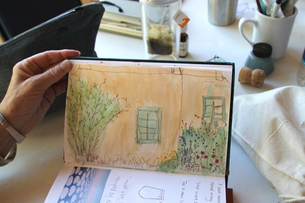 Sallys contour drawing day 1