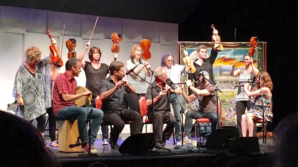 clash with the fiddles