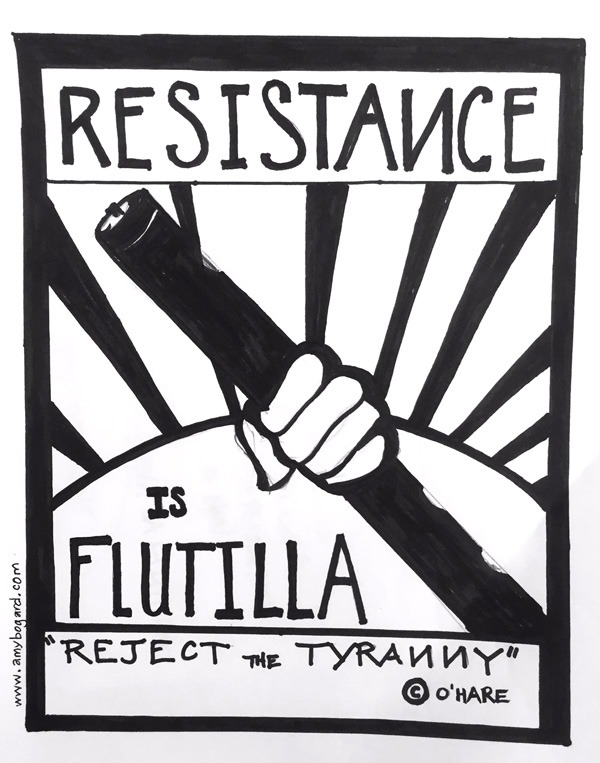 Reject the tyranny of the fiddle!!!! (coined originally by Kieran O'Hare)