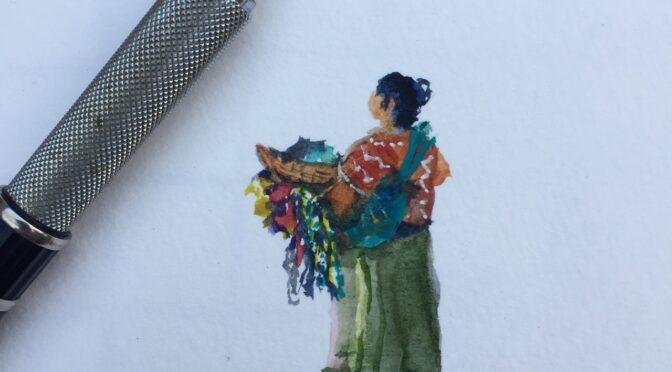 Sketch Antigua Guatemala – Spring 2018