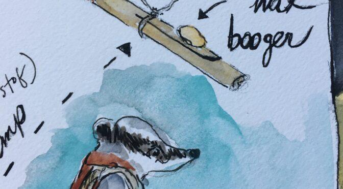 Boogers of Beeswax ::: Twist of Hemp 45:::